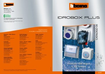 Catalogo Idrobox Plus - Professionisti BTicino