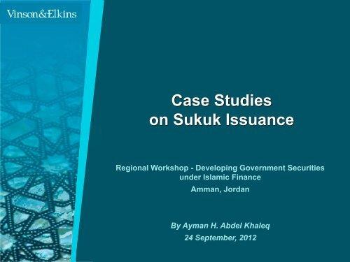 Presentation ENG Case Studies on Sukuk Issuance - METAC