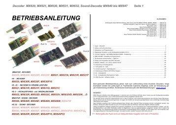 Anleitung - AustroModell