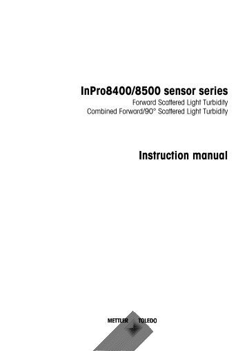 inpro acirc reg sensor series transmitter trb d mettler toledo inpro8400 8500 sensor series instruction manual mettler toledo