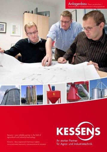 Kessens – your reliable partner in the field of ... - Kessens-Technik