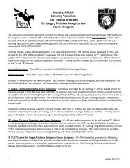 Licensed Eventing Officials Program - United States Eventing ...