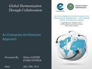 An Enterprise Architecture Approach - AiXM