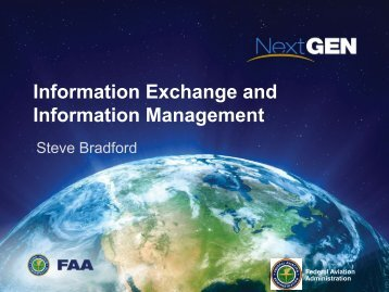 Keynote: FAA - NextGen - AiXM