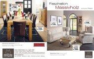 Faszination Massivholz - Möbel INNATURA B. & J. Vajen