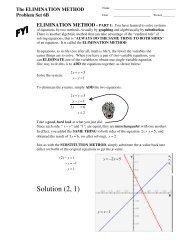 Problem Set 6B - MathChamber