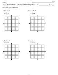Unit 6 Problem Set C.ia1 - MathChamber