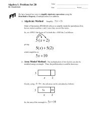 Unit 2 Problem Set B.. - MathChamber