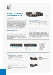 5-port Cat.5 Audio/ Video Broadcaster - Icecat.biz