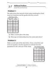 Additional PROBLEMS - MathChamber