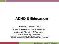ADHD & Education - Caddac