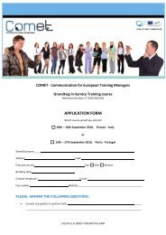 Training Course Application Form - Sociedade Portuguesa de ...