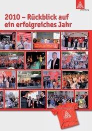 Jahresrueckblick 2010 - IG Metall Wolfsburg
