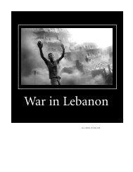 War in Lebanon - Utopian