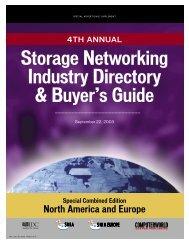 Storage Networking Industry Directory & Buyer's ... - Computerworld