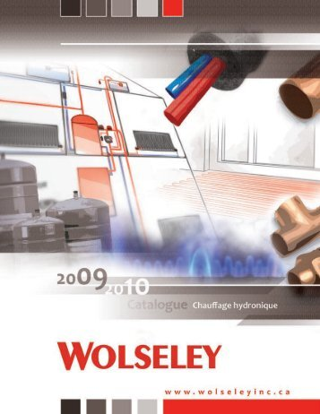 engineering excellence - Wolseley Canada Inc