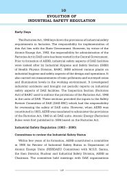 10 evolution of industrial safety regulation - Atomic Energy ...