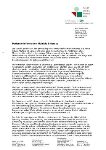 Patienteninformation Epilepsie