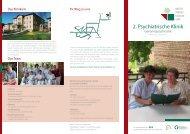 Klinikflyer - GLG Gesellschaft für Leben und Gesundheit mbH