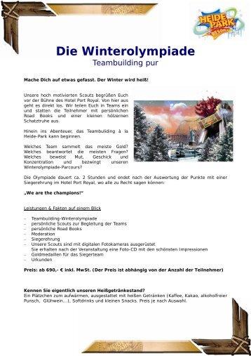 Die Winterolympiade
