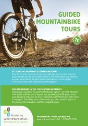 guided MountainBike tours - Youth Hostels