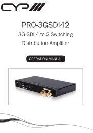 PRO-3GSDI42 - CIE-Group