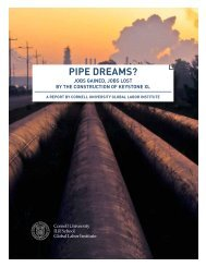 PIPE DREAMS? - Cornell University School of Industrial and Labor ...
