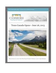 Trans Canada Opens - June 26, 2013 - Tourism Calgary