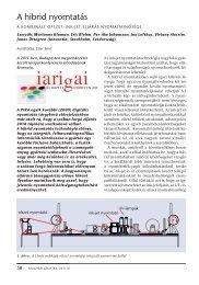 A hibrid nyomtatás - mgonline