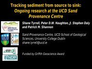 Tracking sediment from source to sink - Geological Survey of Ireland