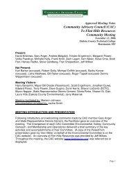November 13, 2006 Approved Minutes - Flinthillscac.org