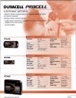 Duracell - Professional Battery Products - Full Line Catalog - Page 5