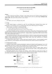 Inteligentní solární systém ISS - Fakulta stavební - Vysoké učení ...