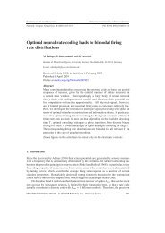 Optimal neural rate coding leads to bimodal firing rate distributions