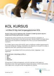 KOL KURSUS - Vordingborg Kommune