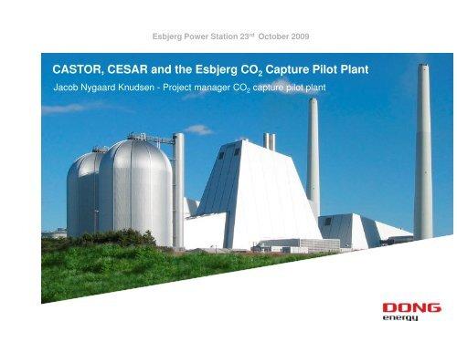CASTOR, CESAR and the Esbjerg CO Capture Pilot Plant - Zero