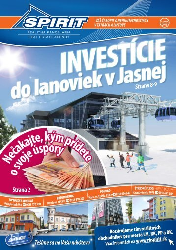 Zimné číslo časopisu RK SPIRIT 02/2011, tu