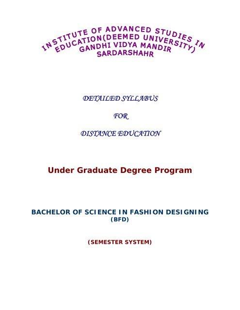 Bfd Iase University