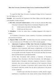 Bihar State University(Constituent College) - Education Department ...