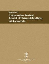 Handbook on PNDT Act - Indian Radiological and Imaging Association