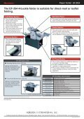 The EF-354 4-buckle folder is suitable for direct-mail or ... - Ferrostaal - Page 2
