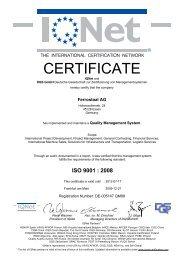 ISO 9001 - Ferrostaal