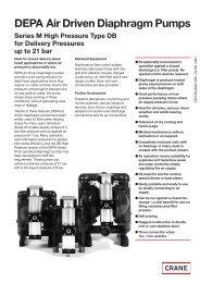 DEPA Air Driven Diaphragm Pumps - Inventflow