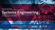 BS in Systems Engineering: Coming Soon to ... - Cochise College