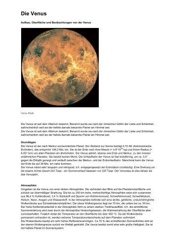 Die Venus - weltbilder.de