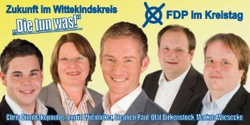 """Die tun was!"" - FDP Kreisverband Herford"