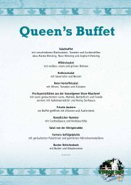 Queens Buffet - Zoo Hannover