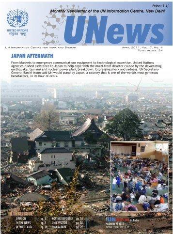 Apr 2011, Vol:7, No. 4 - UNICs