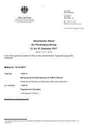 Tagesordnung 12. bis 16. Dezember - FDP-Bundestagsfraktion