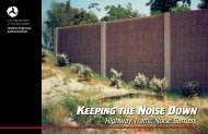 110004-Noise Cover - Federal Highway Administration - U.S. ...